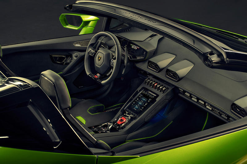 Lamborghini 正式發佈 Huracán EVO 進化版 Spyder
