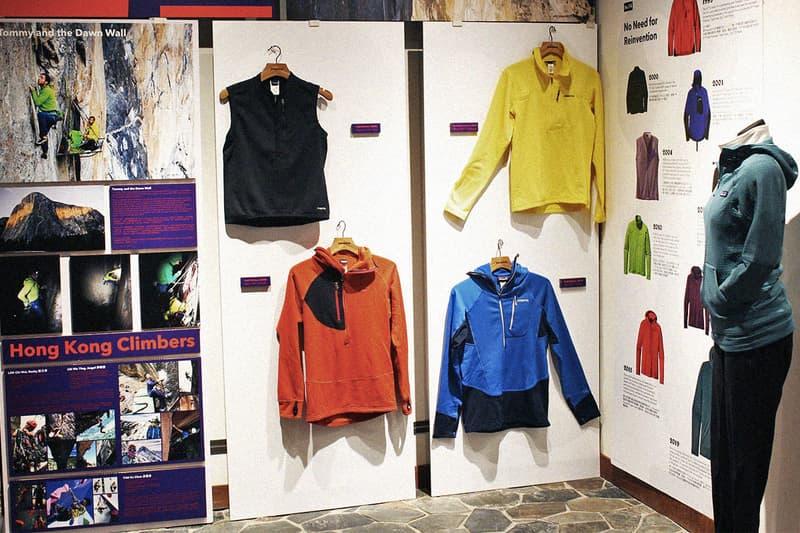 Patagonia R1® 系列 20 周年設計進化展覽