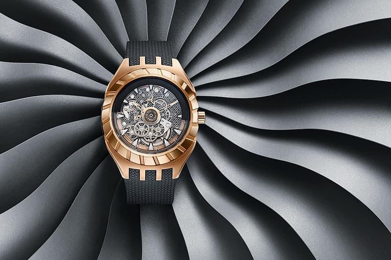 震撼鐘錶業之新物料-Swatch 發佈全新「Flymagic」限量手錶系列