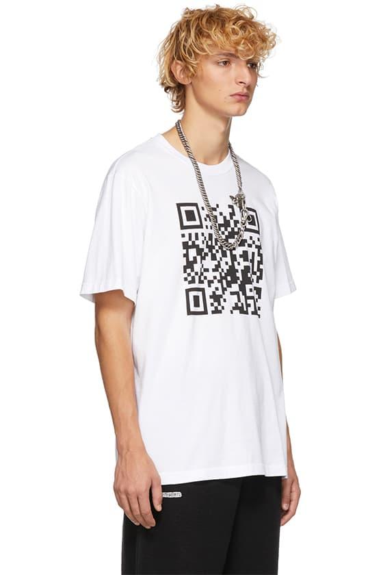 無言以對-Vetements 推出印上「QR Code」的 Print Tee