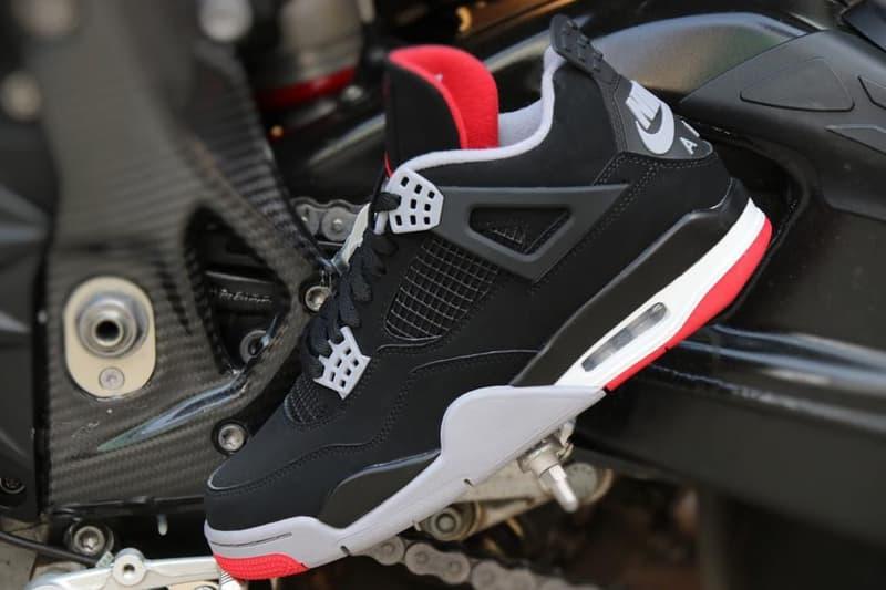 率先近賞元年經典 Air Jordan 4「Bred」復刻配色