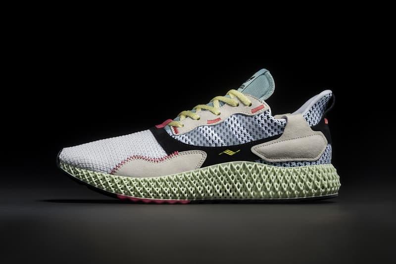 adidas 4D 大底混血鞋款 ZX 4000 4D 香港發售情報公開