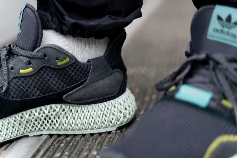 搶先預覽 adidas ZX 4000 4D 全新「Carbon」配色