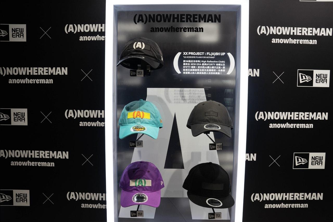 (A)NOWHEREMAN x New Era 最新聯乘系列完整預覽
