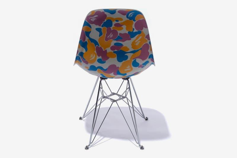 A BATHING APE® x Modernica 全新聯乘 Fiber Shell Chair 登場