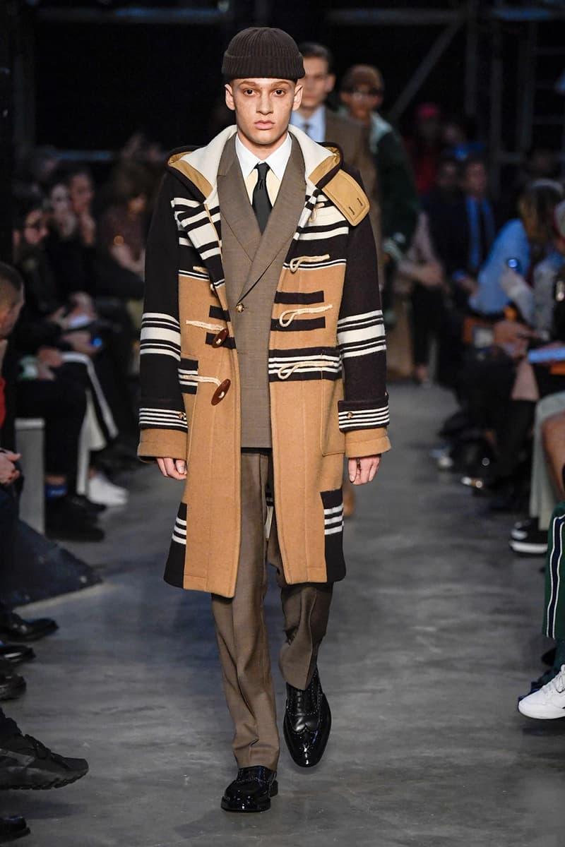倫敦時裝周 − Burberry 發佈 2019 秋冬系列