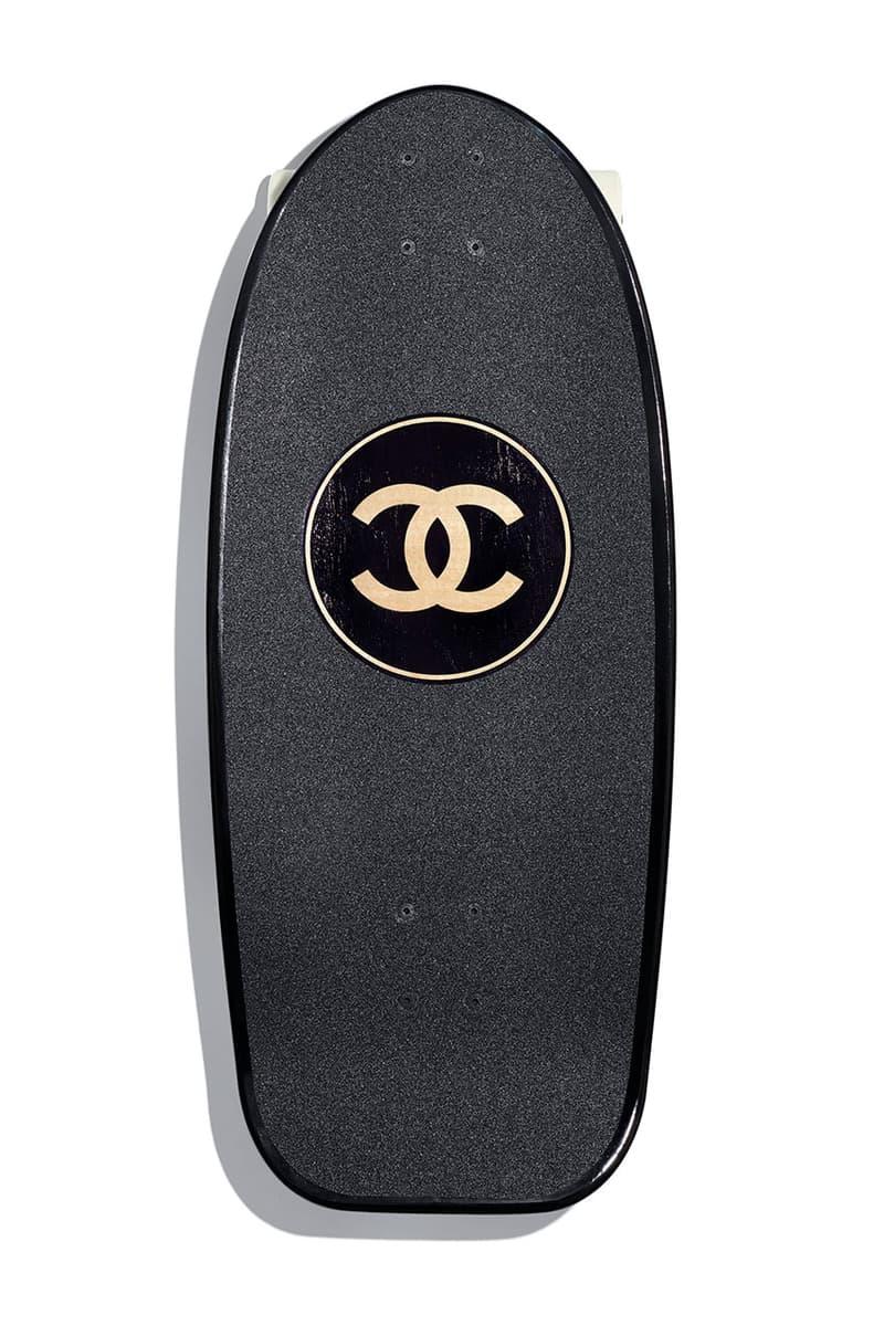 CHANEL 全新奢華衝浪板及滑板上架