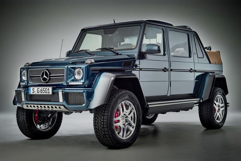 Drake 購入價值 140 萬美元罕有 Mercedes-Maybach G650 Landaulet