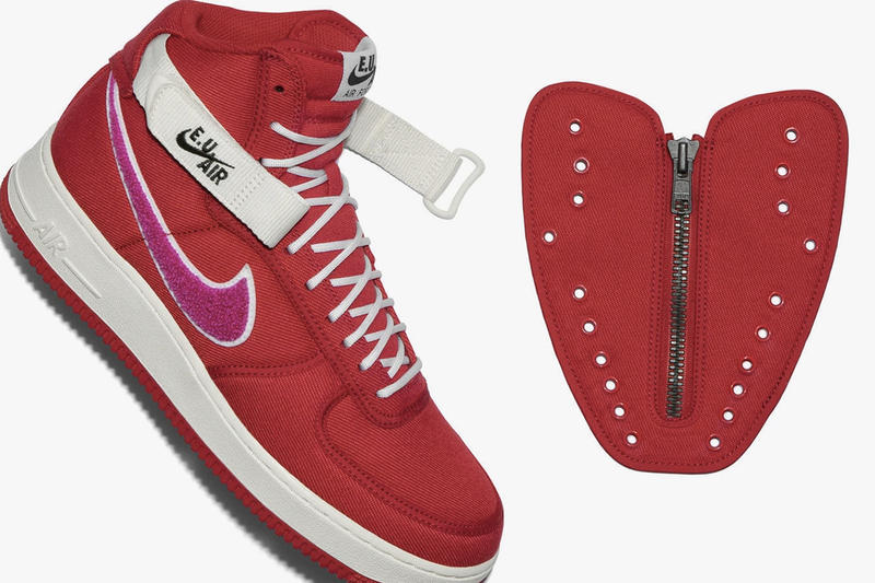 Emotionally Unavailable x Nike 全新聯乘 Air Force 1 High 重新上架