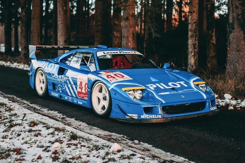 神駒出土 − 1987 年 Ferrari F40 LM 即將展開拍賣