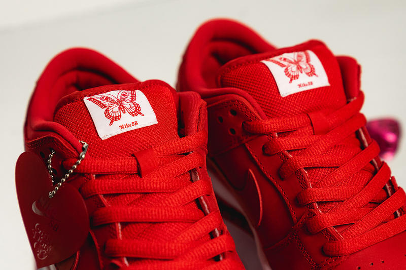 近賞 Girls Don't Cry x Nike SB Dunk Low 聯乘鞋款
