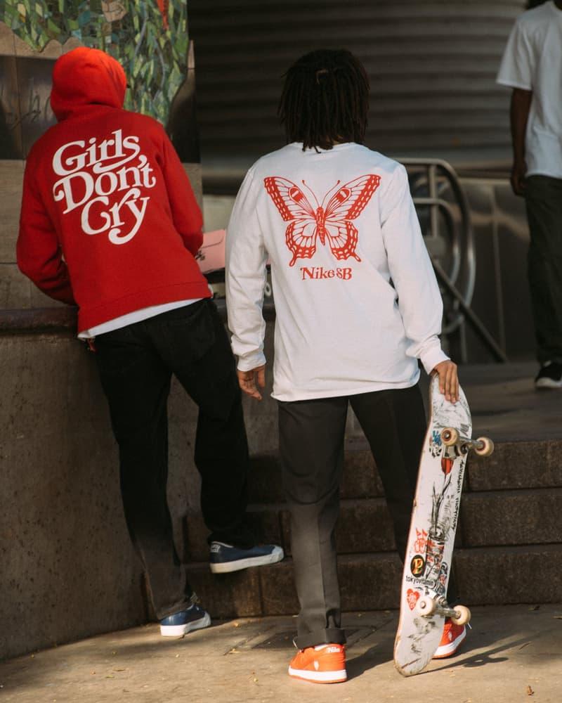 Girls Don't Cry x Nike SB 全新聯乘 Dunk Low 及服飾系列完整揭曉