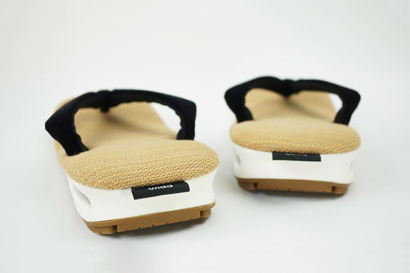 日本傳統超進化-goyemon 運動鞋化雪駄 unda