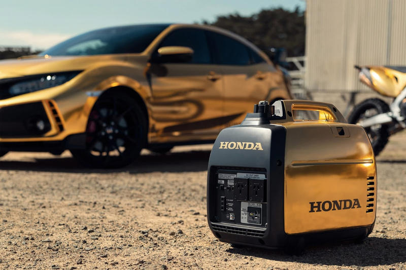 金碧輝煌 − Honda 打造 NSX & Civic Type R 全金色調 50 週年別注車型