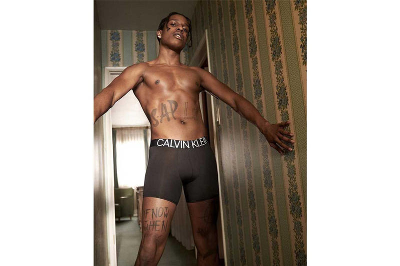 A$AP Rocky 為 Calvin Klein 拍攝最新 Spring 2019 宣傳廣告