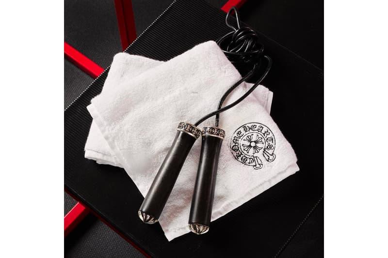 華麗健身-Chrome Hearts 推出頂上奢華之訓練系列