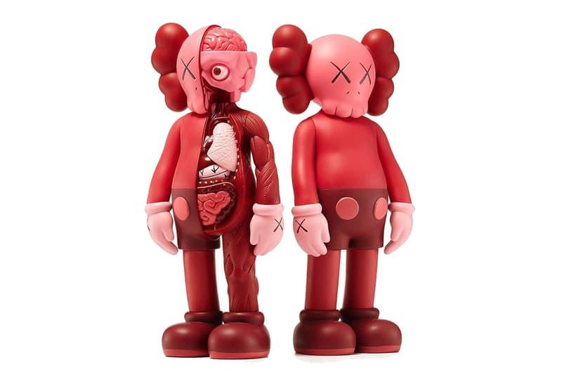 情人節限定-KAWS 再推 Companion Blush 紅色版本搪膠模型