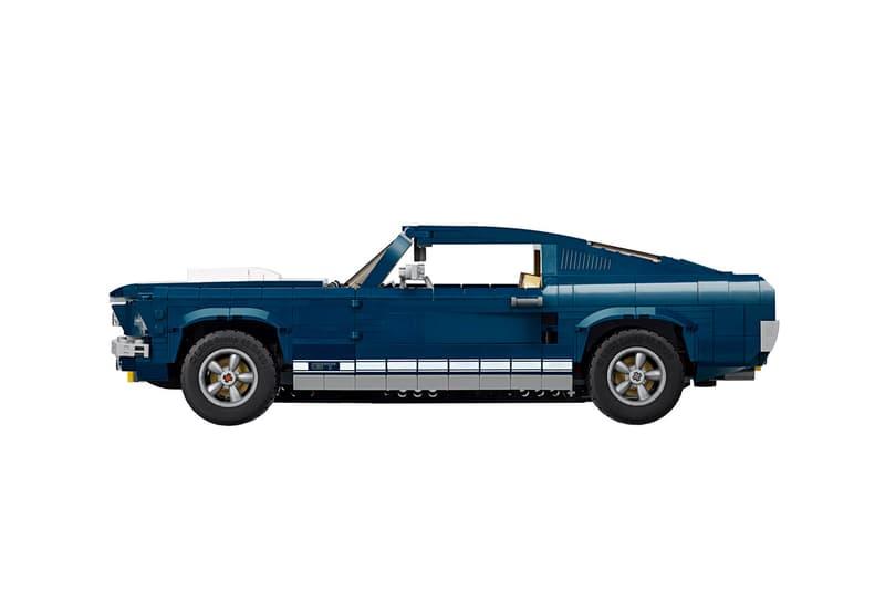 LEGO 發佈 60 年代 Ford Mustang「野馬」跑車積木模型