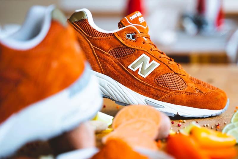 New Balance M991 鮮橙配色來襲