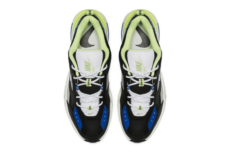 Nike M2K Tekno 全新「Royal Blue & Volt」配色來襲