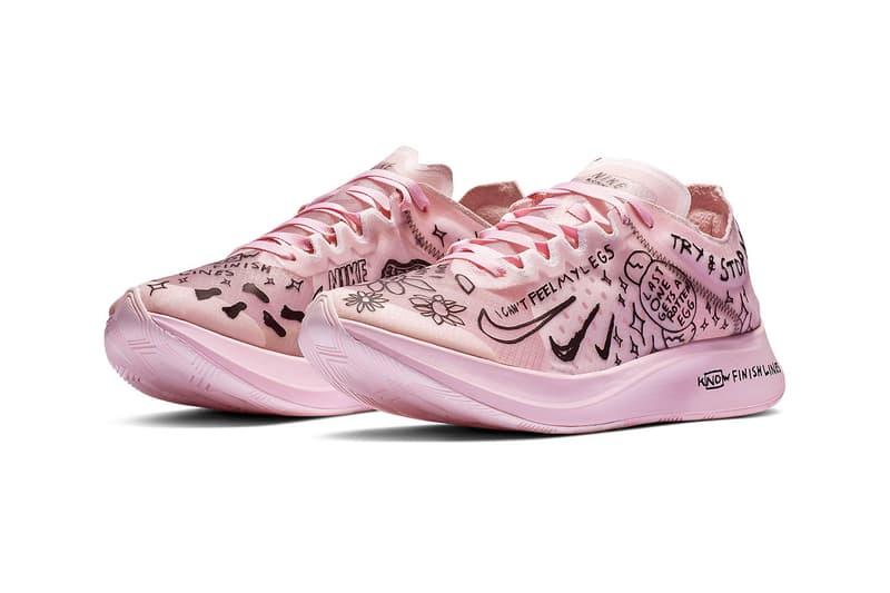 Nathan Bell x Nike 攜手打造手繪風格別注 Zoom Fly SP 鞋款