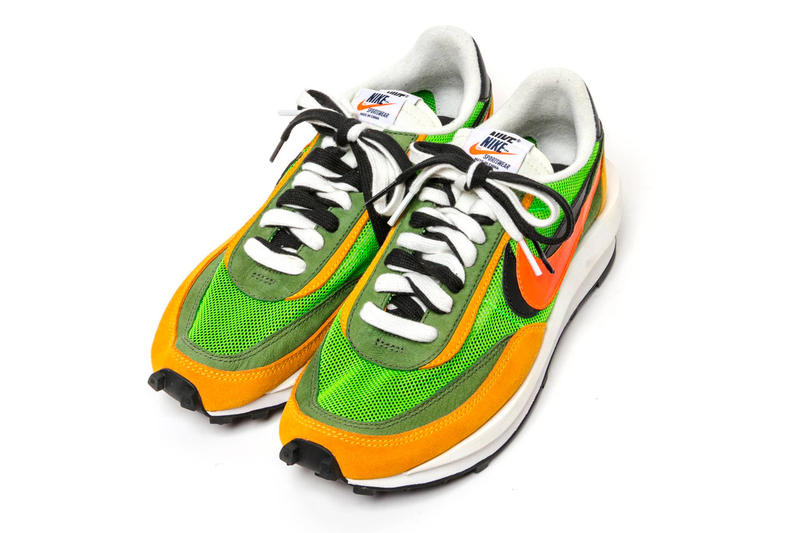 sacai x Nike LDV Waffle Daybreak 鞋款官方圖片公開