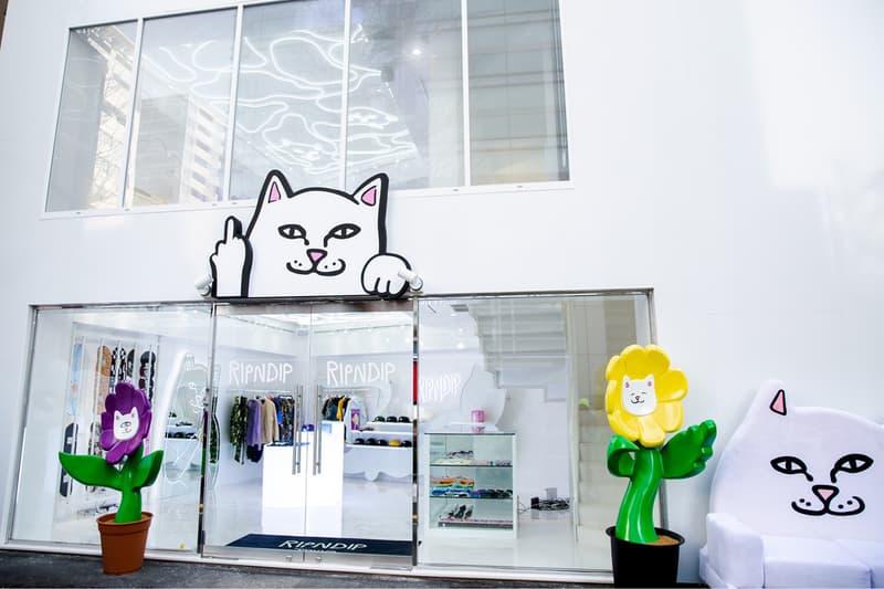 率先走進「中指貓」RIPNDIP 東京旗艦店
