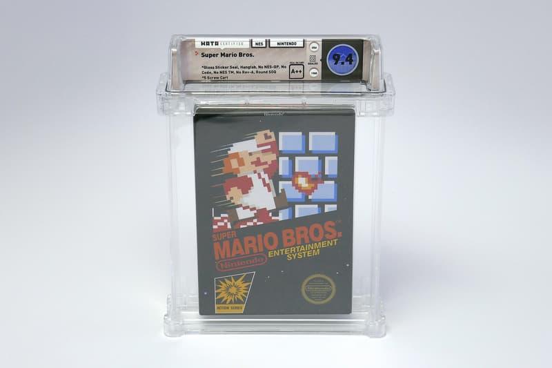 史上最貴遊戲!1985 年全未開封《Super Mario Bros.》以天價成交