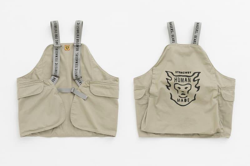 機能添加-Human Made 推出 Hunting Vest 打獵背心