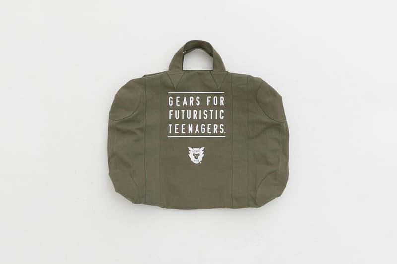 機能大容量-Human Made 推出便攜 Officer Bag