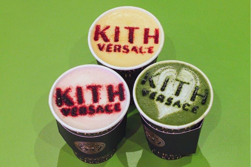 KITH x Versace 將攜手 Cha Cha Matcha 打造 Pop-Up 期間限定店