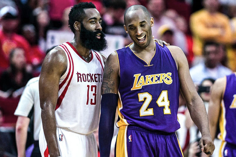 Kobe Bryant 評論 Rockets 不會因 James Harden 而奪得總冠軍