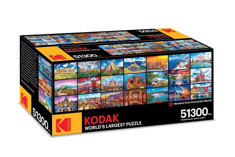 要砌多久?Kodak 推出有 51,300 塊的全球最大拼圖