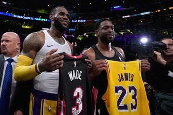Picture of 兄弟聯手・最終回!LeBron James 談論 Dwyane Wade 於 NBA 全明星賽合體