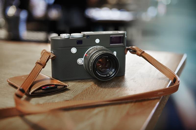 Leica 推出 M10-P「Safari」相機限量版套裝