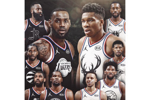 NBA 2019 全明星賽 Team LeBron 及 Team Giannis 隊長選人過程完整公開