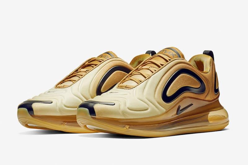 黃金鍛造-Nike Air Max 720 全新配色設計「Desert Gold」
