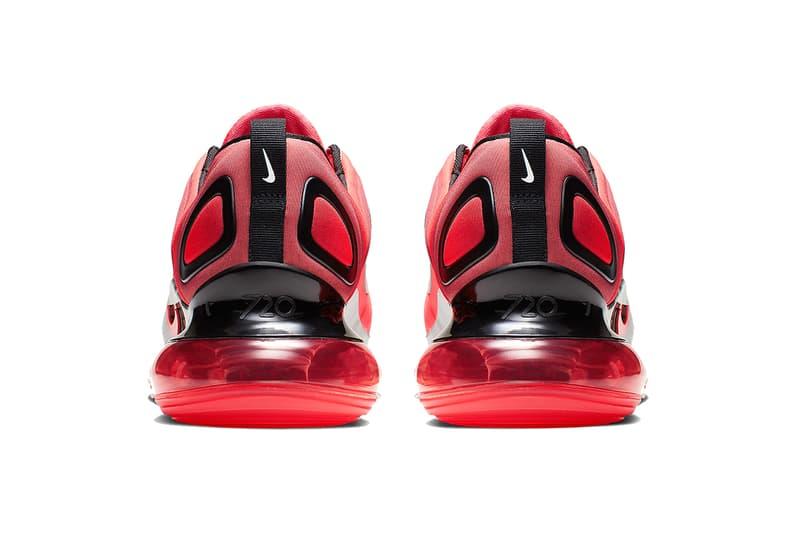 Nike Air Max 720 全新配色設計「University Red」