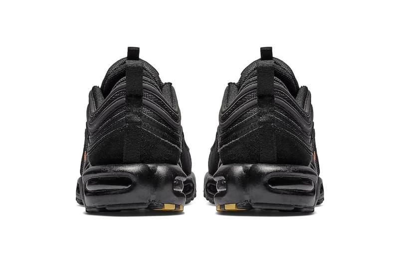 Nike Air Max Plus 97 全新「Black/Orange」色調即將上架