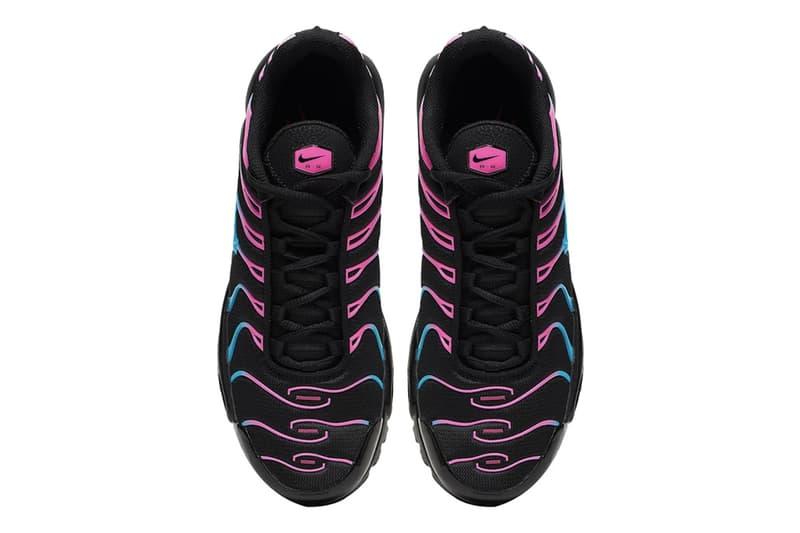 Nike Air Max Plus 全新「Miami Vice」配色發佈