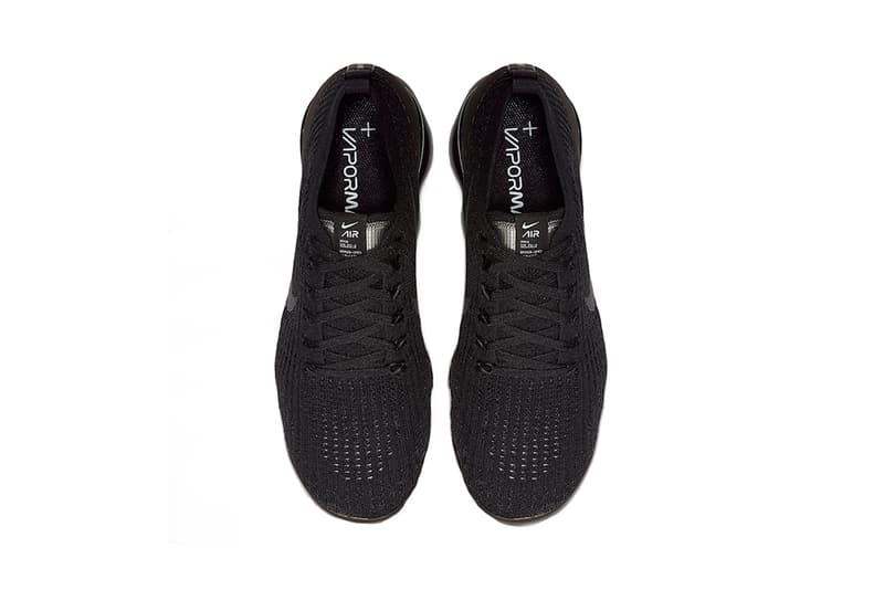 搶先預覽 Nike Air VaporMax Flyknit 3.0「Triple Black」配色