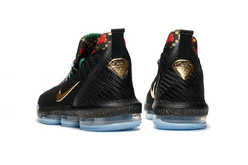 Nike LeBron 16「Watch The Throne」別注配色發售詳情公開
