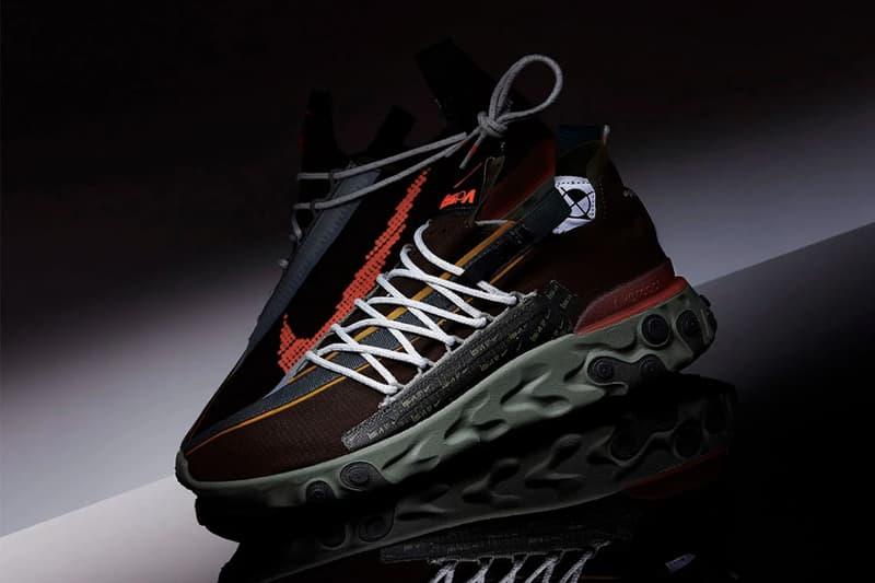 Nike 全新鞋型 React WR ISPA 發售情報公佈