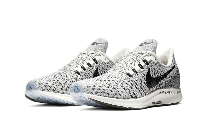 Nike 推出「手繪塗鴉風」Zoom Pegasus 35