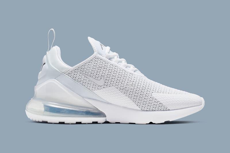 搶先預覽 Nike Air Max 270 全新「Pure Platinum」配色