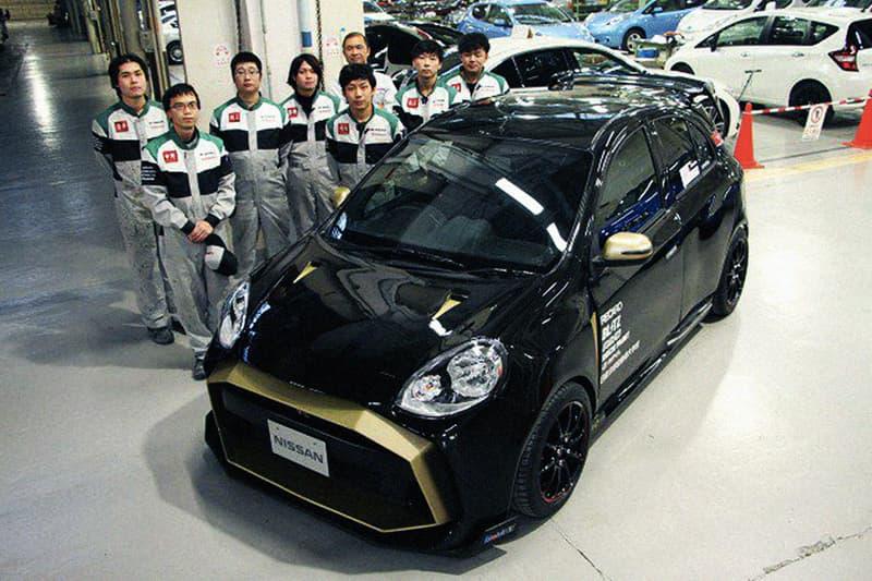 學生神改!Nissan 小型掀背變身夢之超跑 GT-R50