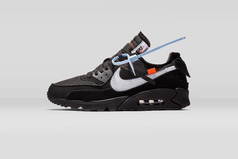 Off-White™ x Nike Air Max 90 雙配色香港區抽籤情報
