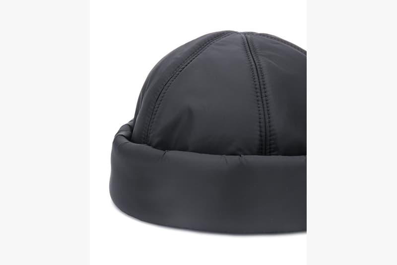 Prada 推出全新 Logo 尼龍版 Beanie Hat
