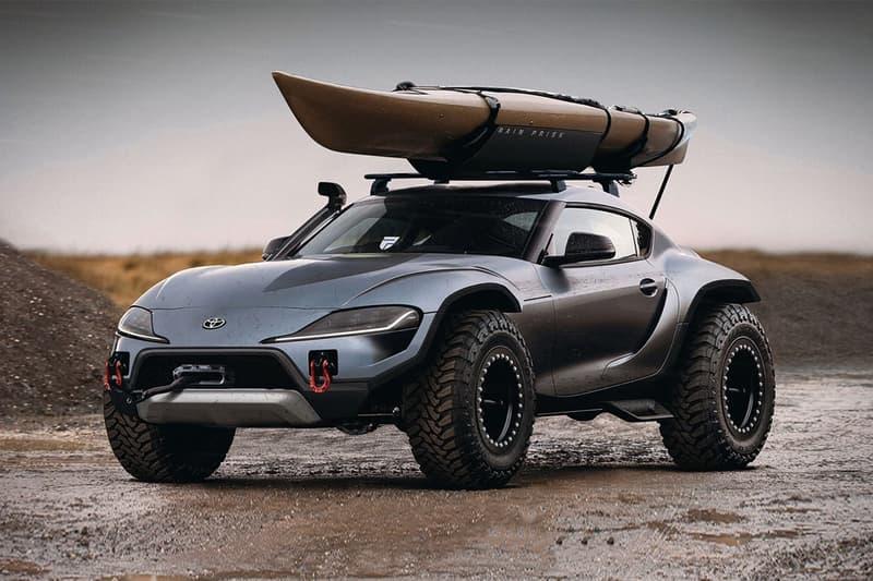 終極變異 − Rain Prisk 打造 Toyota Supra 4x4 改裝版本