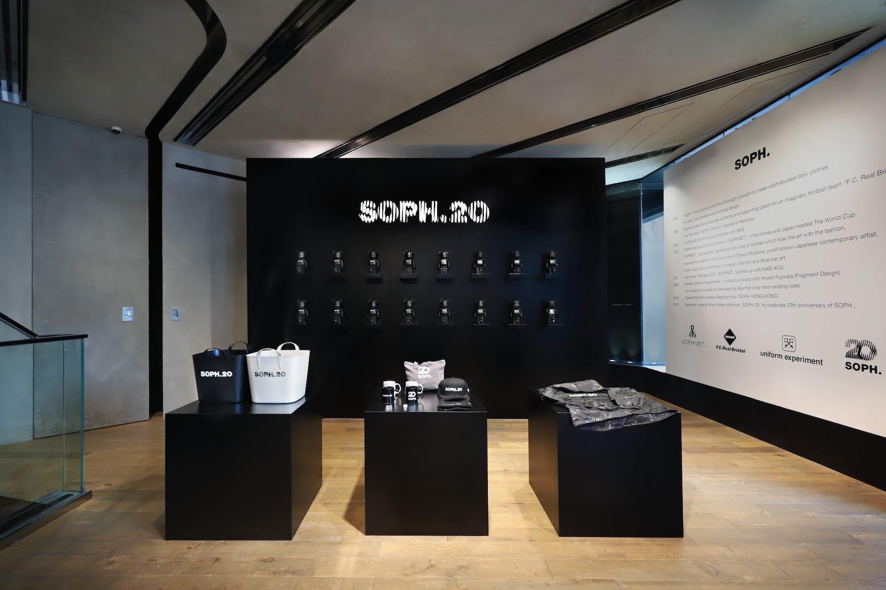 SOPHNET. 20 周年期间限定店开催